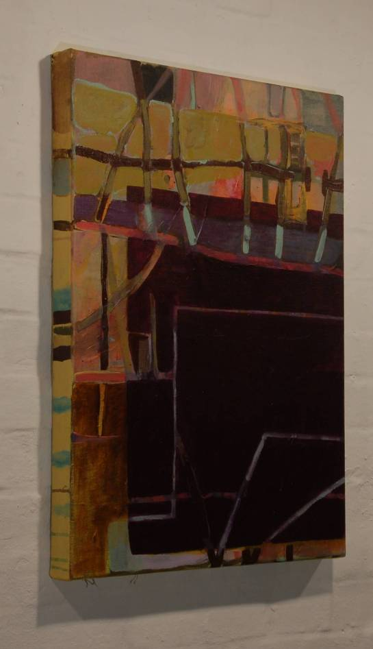 70 x 50 cm, Acryl auf Leinwand, 2012